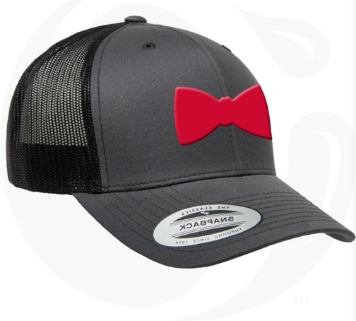 Bow Tie Snapback (Red)