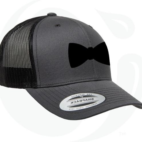 Bow Tie Snapback (Black)
