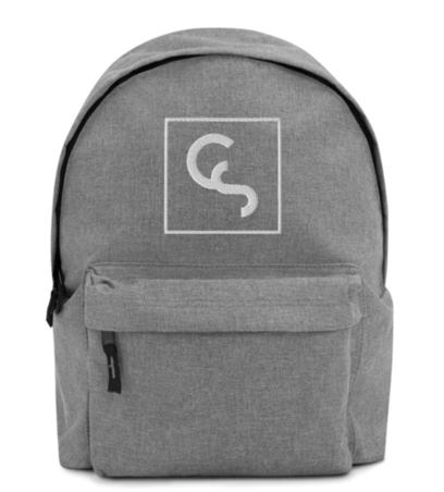 CS Embroidered Backpack